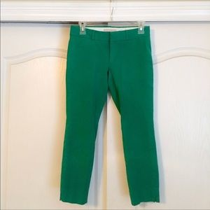 Banana Republic 2P Green Sloan Crops